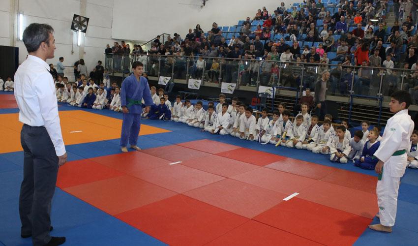 אליפות חנוכה בג'ודו במודיעין (צילום: באדיבות מועדון דרך הג'ודו)