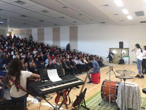 חנוכת תיכון עירוני ה' על שם יצחק נבון