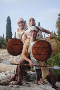 תיאטרון אספלט בקברות המכבים (צילום: שרון חן)