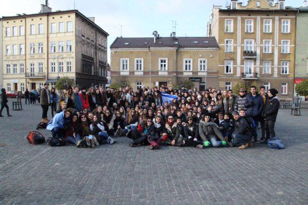 עירוני ב' במודיעין במסע לפולין
