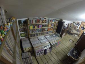 אוסף התקליטים המכובד של אהוד פורת (צילום: פרטי)