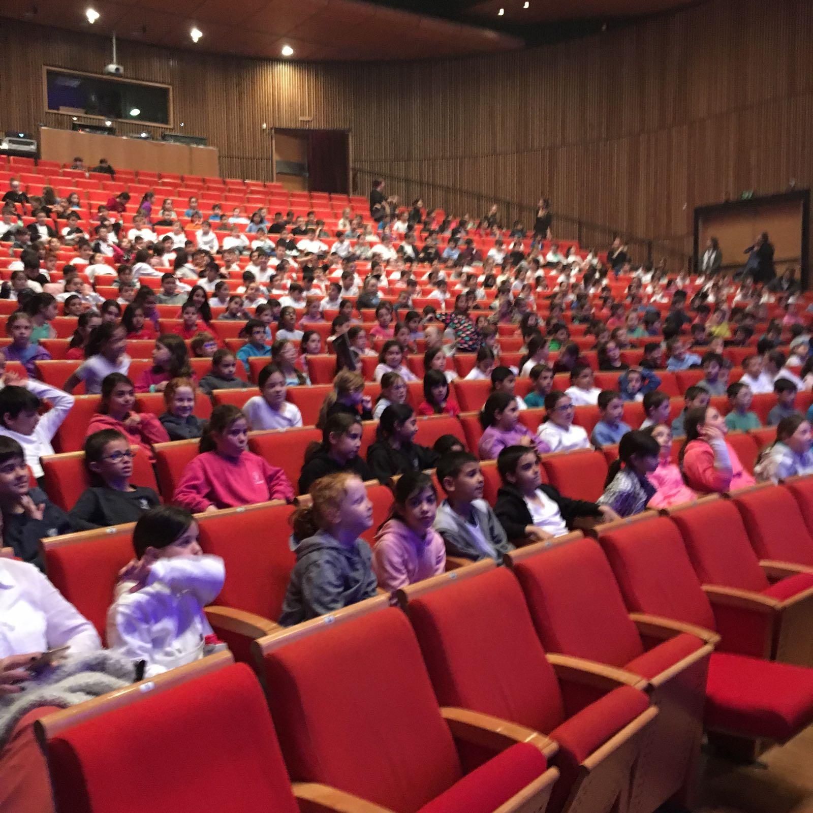 מפגש האופרה של התלמידים (צילום: דוברות עיריית מודיעין מכבים רעות)