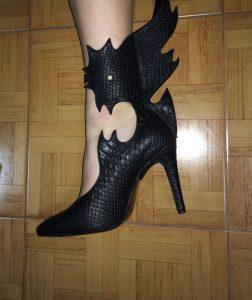 נעל בעיצובה של אילנה קוסטרובה (צילום: פרטי)