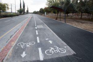 שביל האופניים ביאיר פרג