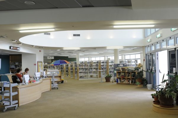 הספרייה הציבורית במודיעין (צילום: חורחה נובומינסקי)