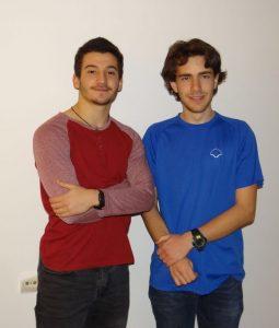 (מימין) מיכאל גלזנר ורועי ירון (צילום: דוברות עיריית מודיעין מכבים רעות)