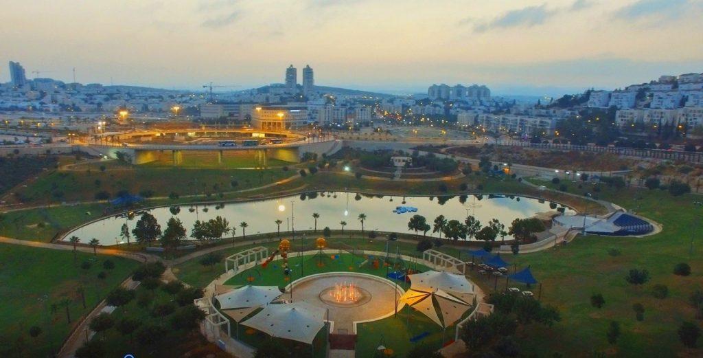 פארק ענבה (צילום: דוברות עיריית מודיעין מכבים רעות)