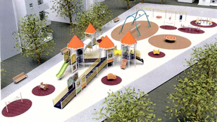 פארק נגיש במודיעין (הדמיה: דוברות עיריית מודיעין מכבים רעות)