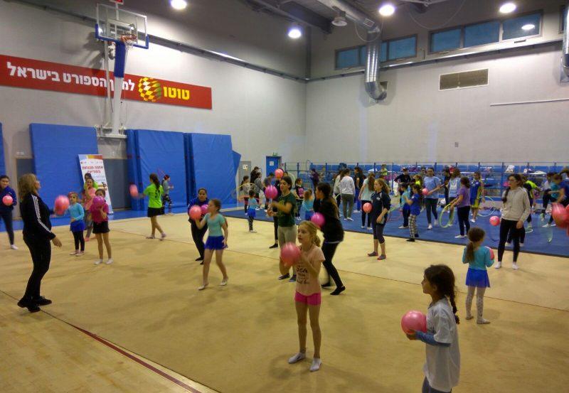ספורט נשים וילדות במודיעין (צילום: דוברות עיריית מודיעין)