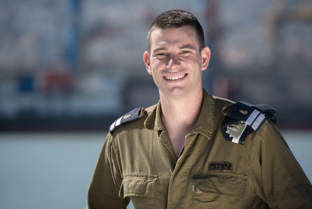 """סגן ארבל שקד (צילום: דובר צה""""ל)"""