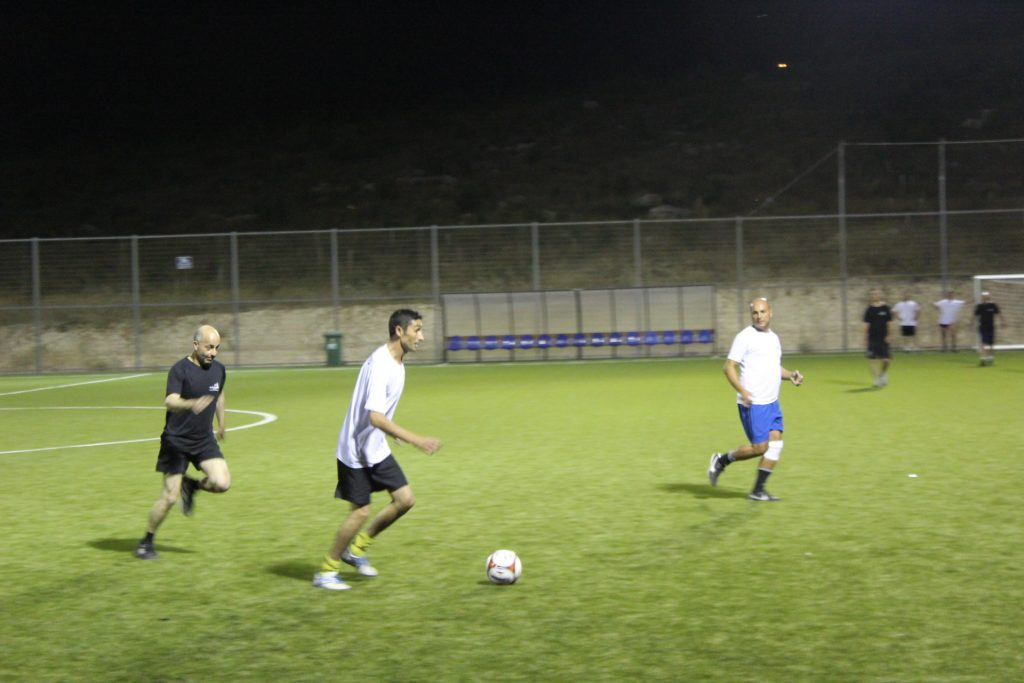 ליגת התושבים בכדורגל (צילום: דוברות עיריית מודיעין מכבים רעות)