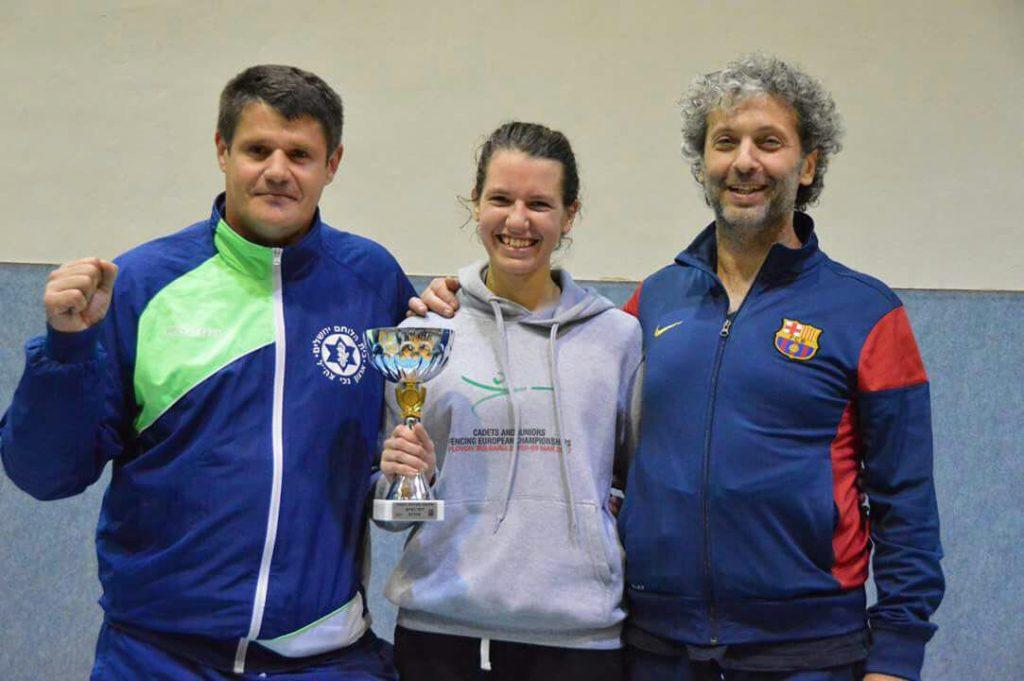 (מימין) דמיטרי פודולסקי, יאנה בוטביניק, ויקטור גלז (צילום: תומר שנקר)