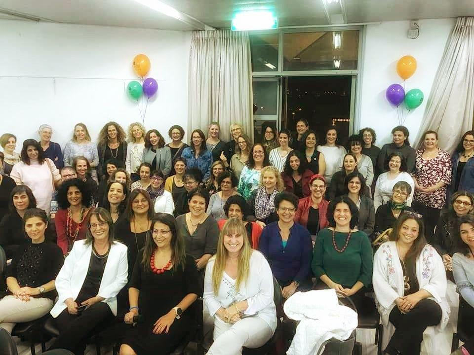 הנשים המשתתפות במיזם נעם להכיר (צילום: דוברות עיריית מודיעין מכבים רעות)