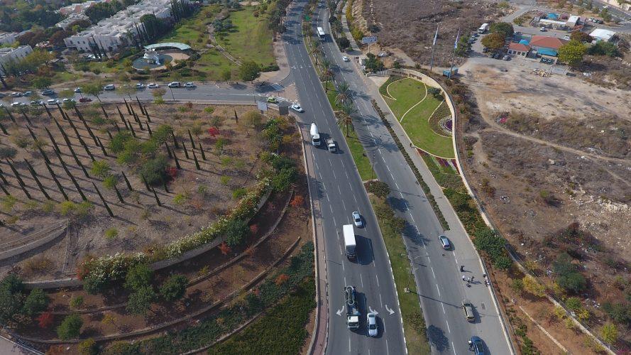 שדרות החשמונאים (צילום: דוברות עיריית מודיעין מכבים רעות)