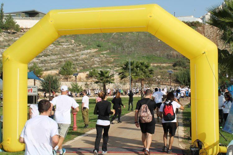 בוקר ספורטיבי בפארק ענבה (צילום: דוברות עיריית מודיעין מכבים רעות)