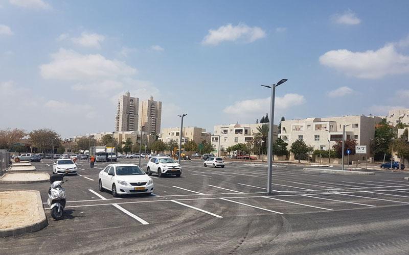 חניון עמק דותן (צילום: עיריית מודיעין מכבים רעות)