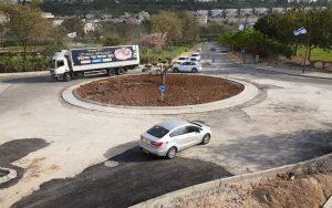 כיכר שדרות עמק דותן-עמק יזרעאל (צילום: עיריית מודיעין מכבים רעות)