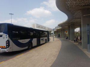 מסוף התחבורה במודיעין (צילום: עיריית מודיעין מכבים רעות)