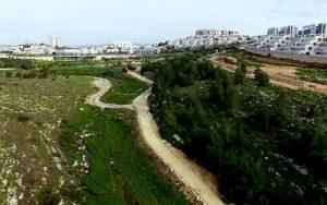 שביל פארק ענבה (צילום: עיריית מודיעים מכבים רעות)