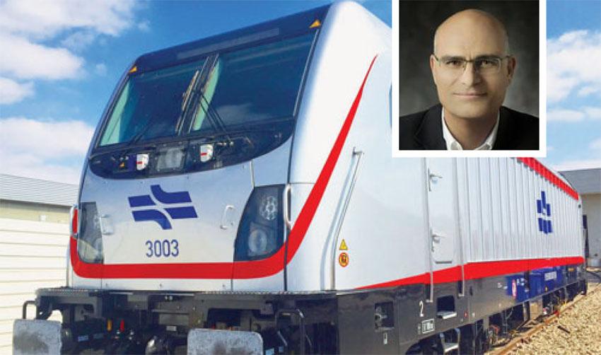 אילן בן סעדון, רכבת ישראל (צילומים: באדיבות רכבת ישראל, מתוך דף הפייסבוק של אילן בן סעדון)