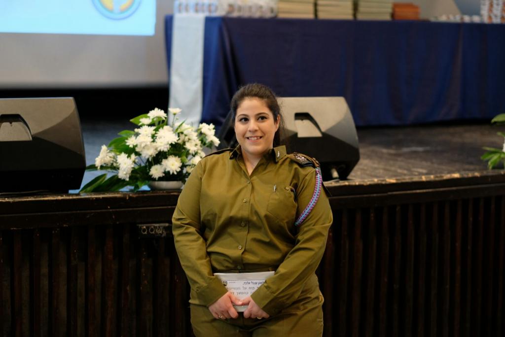 סגן ענבל אלבז (צילום: לישי סוקול)