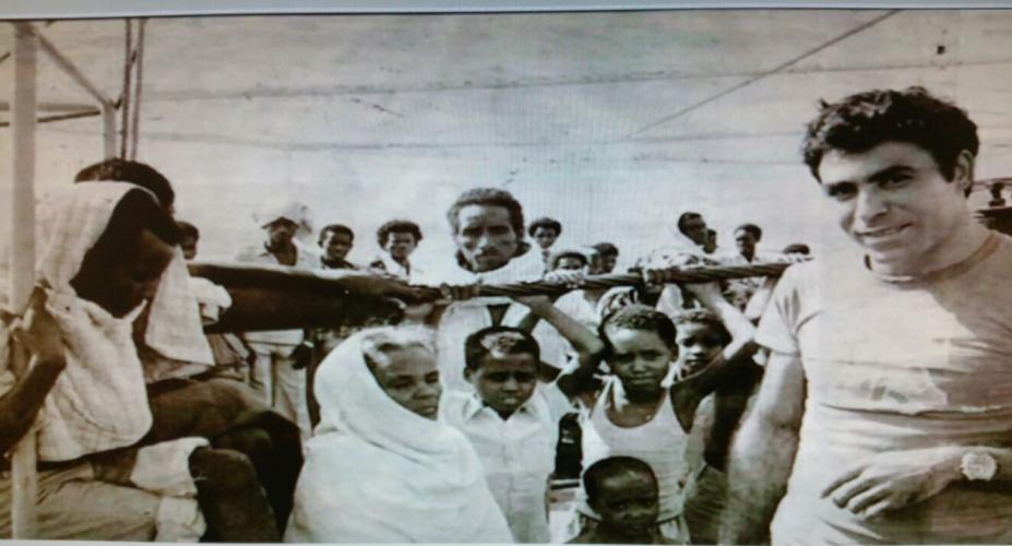 מתוך המבצע להעלאת יהודי אתיופיה (צילום: דוברות עיריית מודיעין מכבים רעות)