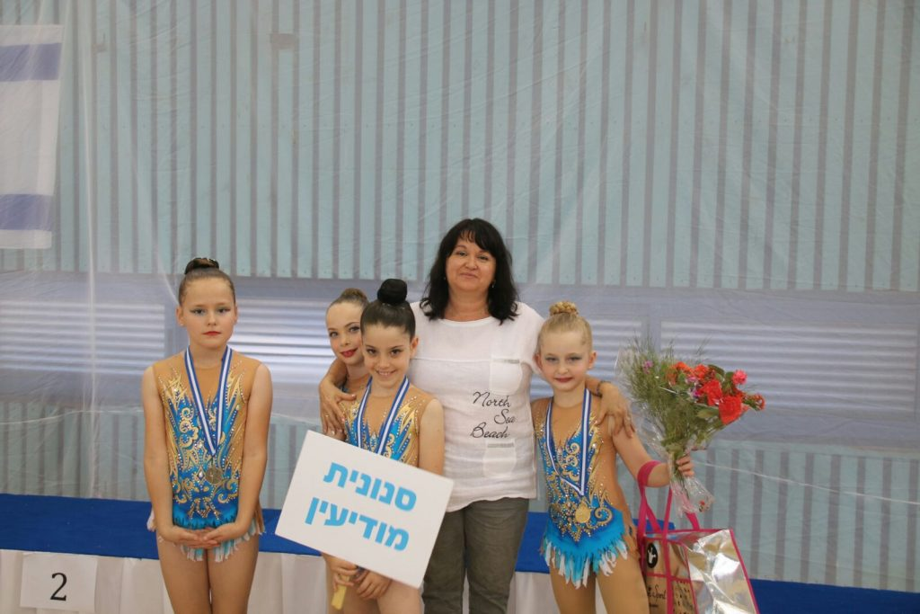 קבוצת הסנוניות באליפות הבינלאומית (צילום: לאוניד נוזדרצ'יוב)