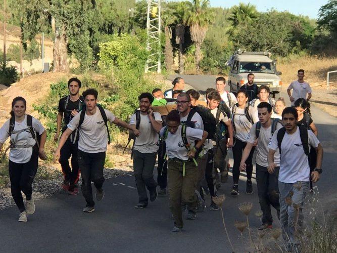 מסע סוף המסלול של צוות יהונתן (צילום: דוברות עיריית מודיעין מכבים רעות)