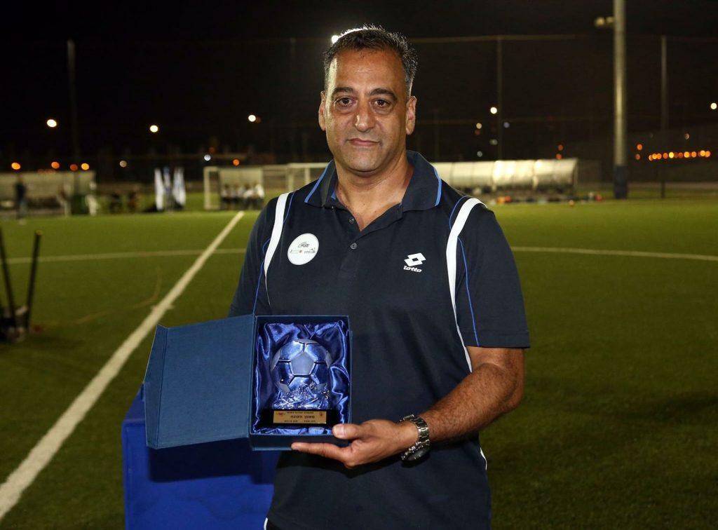 אריאל וינדר, מאמן העונה, כדורגל נשים (צילום: באדיבות ההתאחדות לכדורגל)