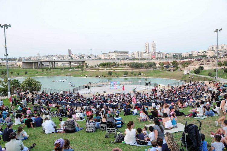 פארק ענבה, קיץ 2017 (צילום: דוברות עיריית מודיעין מכבים רעות)