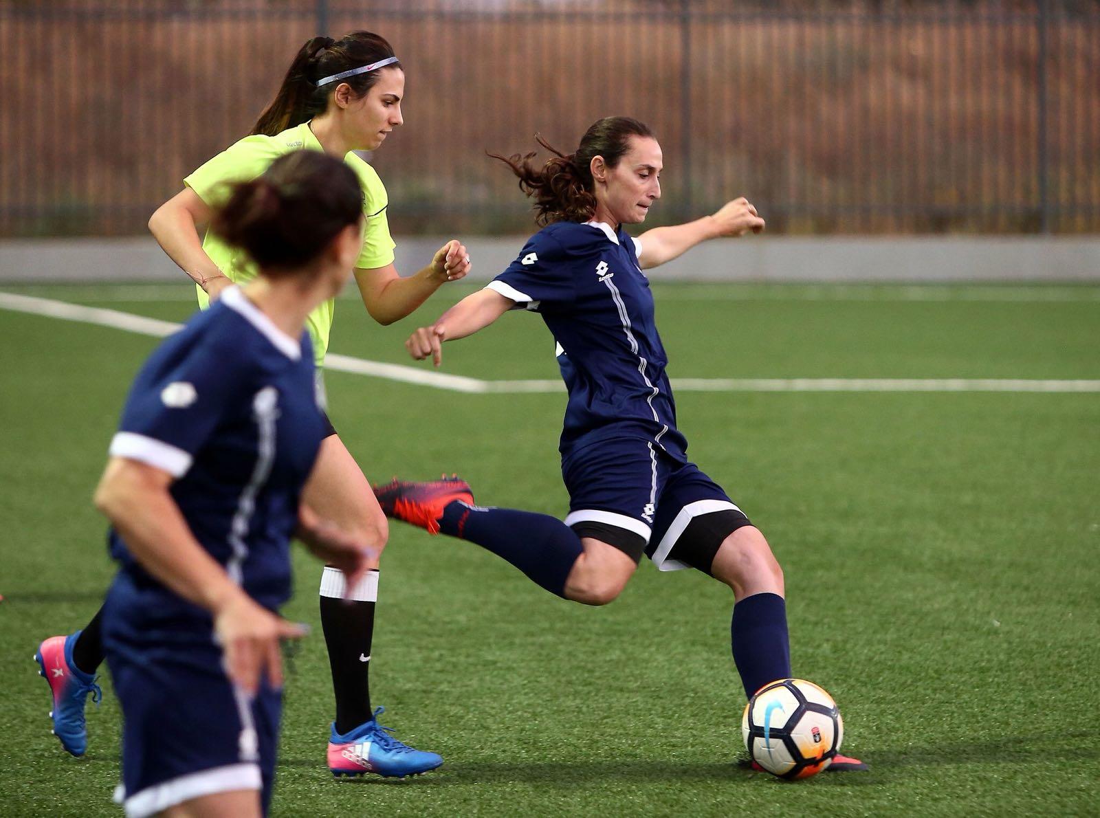 כדורגל נשים (צילום: באדיבות ההתאחדות לכדורגל)