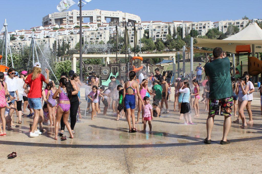 פארק ענבה, השבוע (צילום: דוברות עיריית מודיעין מכבים רעות)