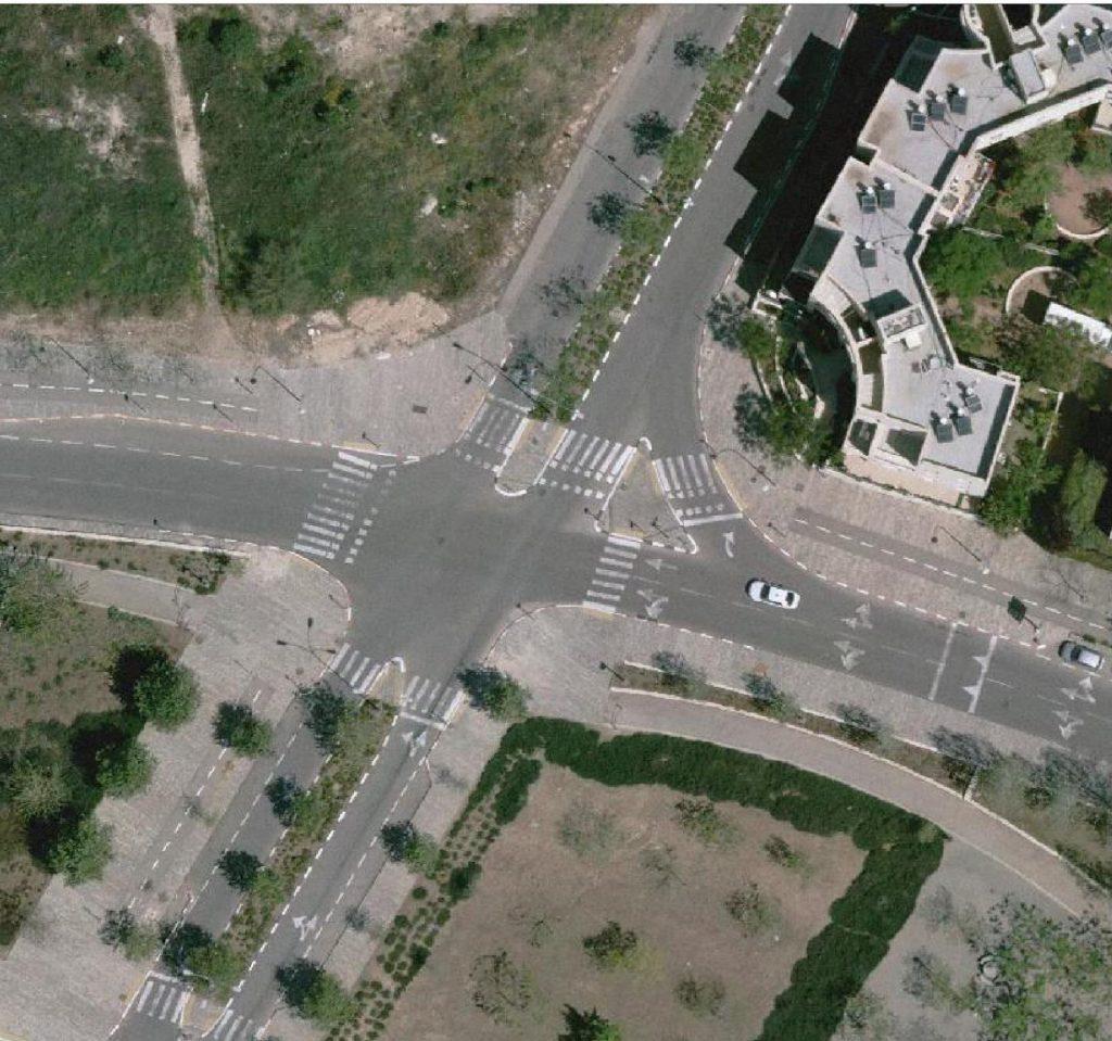 צומת עמק זבולון חטיבה 7 (צילום: דוברות עיריית מודיעין מכבים רעות)
