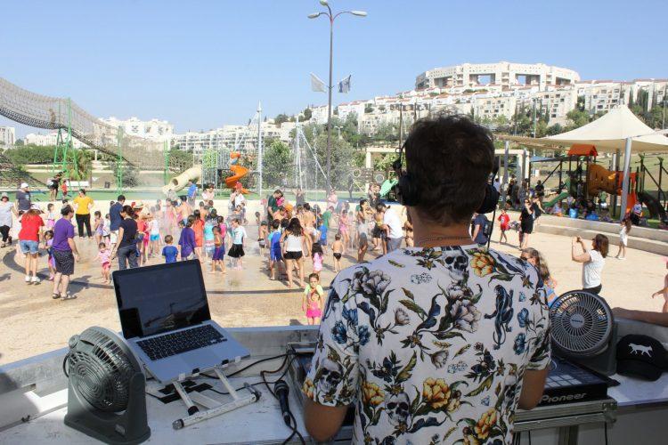 מסיבת קיץ בפארק ענבה (צילום: דוברות עיריית מודיעין מכבים רעות)