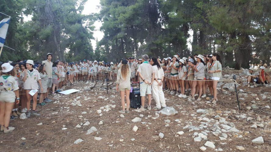 מחנה קיץ מכבי צעיר (צילום: דוברות עיריית מודיעין מכבים רעות)