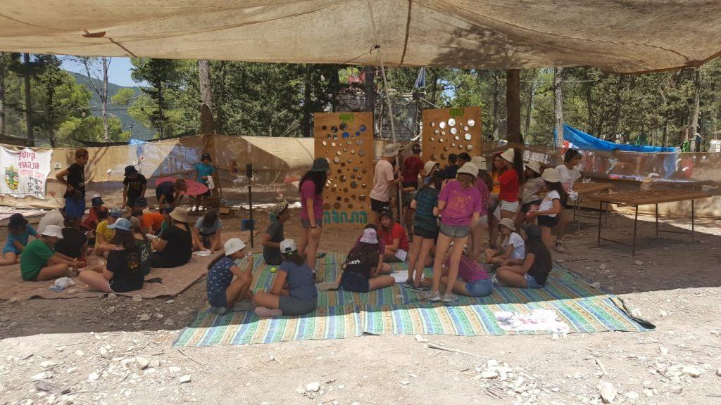 מחנה קיץ צופים (צילום: דוברות עיריית מודיעין מכבים רעות)