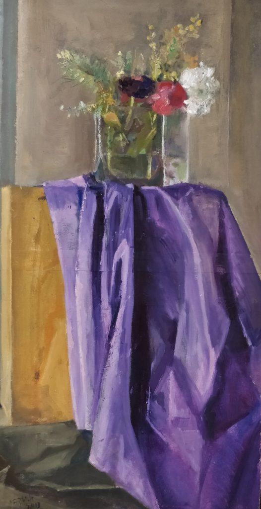 """מתוך התערוכה """"בניחוח פריז"""". מאת האמנית אתי יעקבי"""