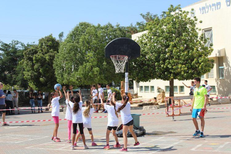 חוגי ספורט - כדורסל (צילום: דוברות עיריית מודיעין מכבים רעות)