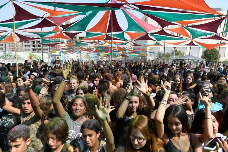 מסיבת הרחוב לנוער במודיעין (צילום: חורחה נובומינסקי)