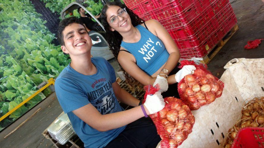 מתוך סיירת ההתנדבות של בני הנוער (צילום: דוברות עיריית מודיעין מכבים רעות)