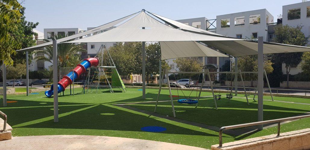 פארק חדש במודיעין (צילום: דוברות עיריית מודיעין מכבים רעות)