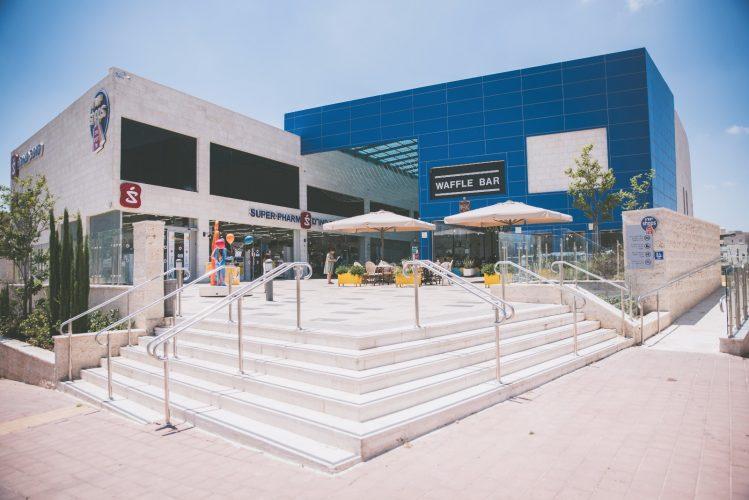 מרכז מסחרי יורו שופס של חברת יורו ישראל (הדמיה: Nimco design)