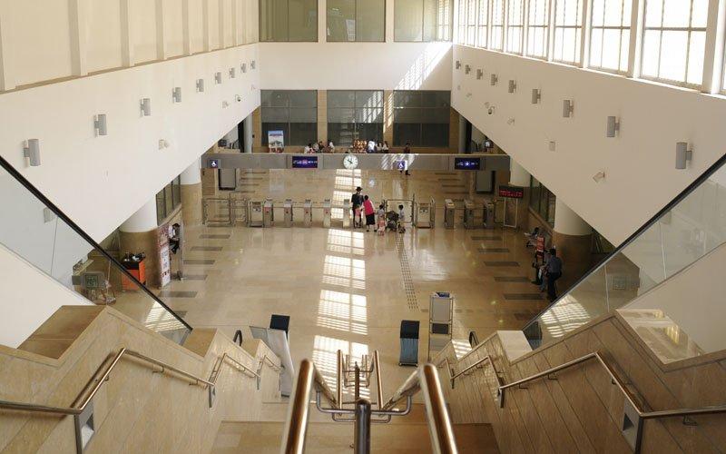 תחנת הרכבת פאתי מודיעין (צילום: עיריית מודיעין-מכבים-רעות)