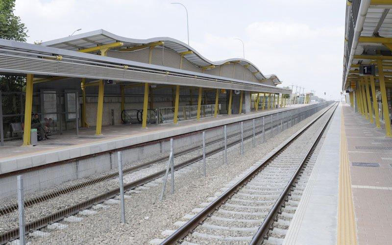 רציף תחנת הרכבת במודיעין (צילום: עיריית מודיעין-מכבים-רעות)