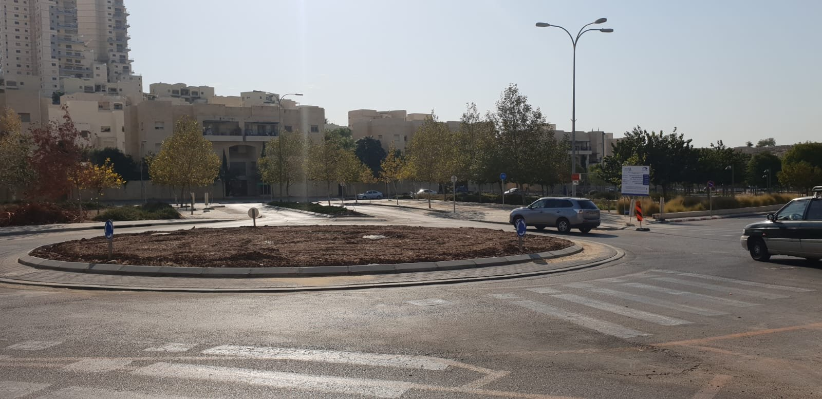 כיכר עמק זבולון-יגאל ידין (צילום: דוברות עיריית מודיעין מכבים רעות)