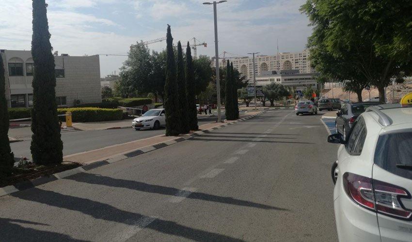 רחוב דם המכבים (צילום: דוברות עיריית מודיעין מכבים רעות)