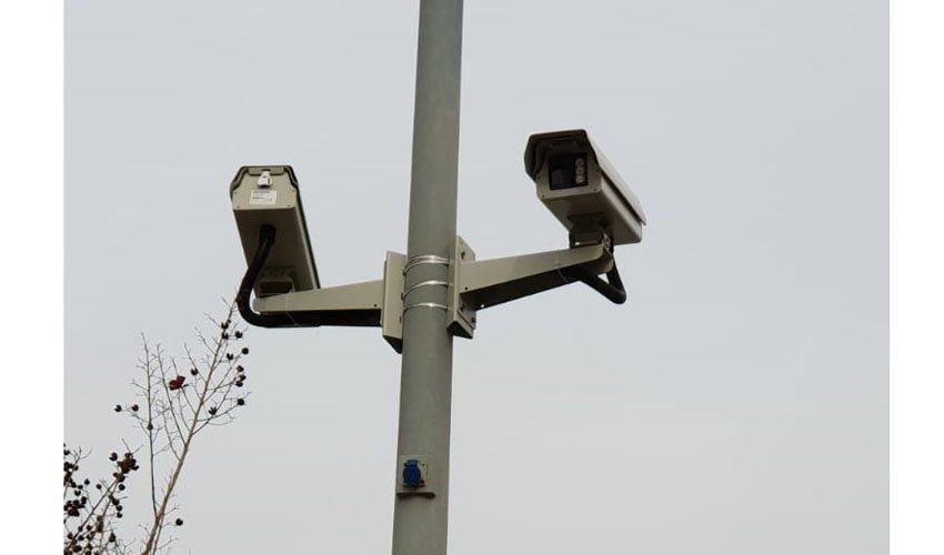 מצלמות האבטחה בשכונת הכרמים (צילום: דוברות עיריית מודיעין מכבים רעות)
