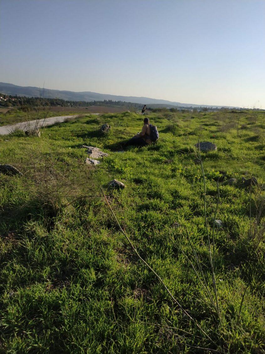סימון שביל ישראל בגבעת התיתורה (צילום: דוברות עיריית מודיעין מכבים רעות)