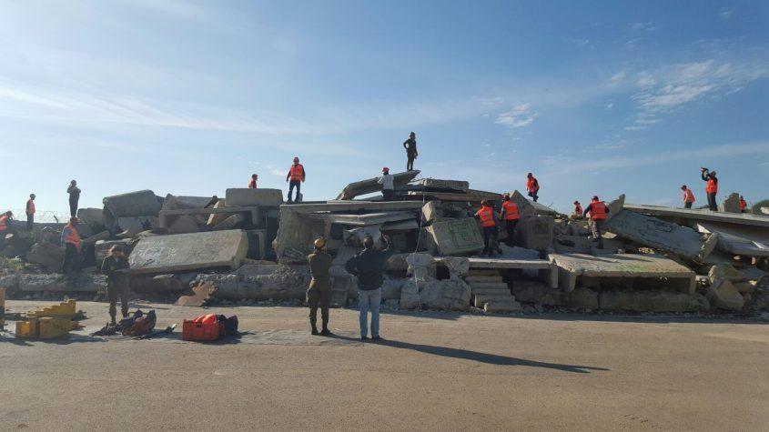 סיום קורס מתקדם של יחידת החילוץ וההצלה העירונית (צילום: דוברות עיריית מודיעין מכבים רעות)