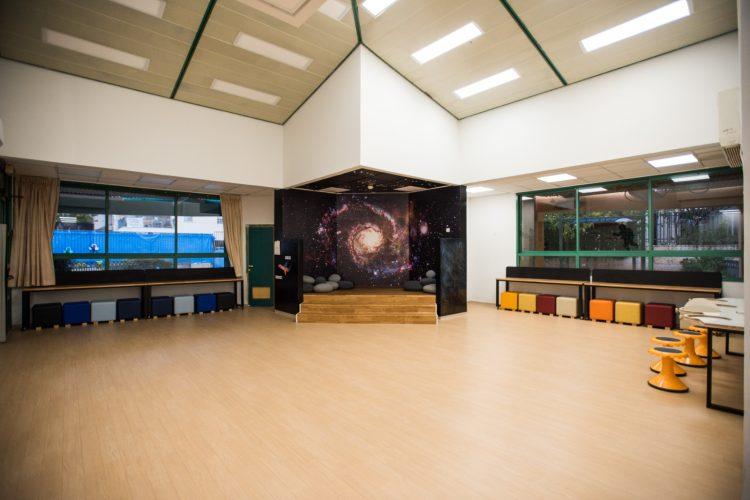 מרחב הלימוד החדש בבית הספר רמון (צילום: דוברות עיריית מודיעין מכבים רעות)